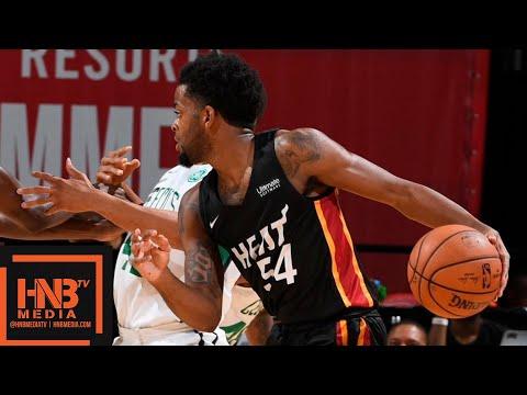 Miami Heat vs Boston Celtics Full Game Highlights / July 14 / 2018 NBA Summer League