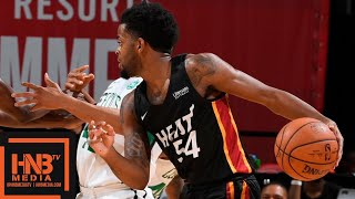 Miami Heat vs Boston Celtics Full Game Highlights / July 14 / 2018 NBA Summer League