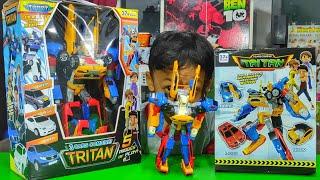 Tobot Tritan XYZ RAKSASA VS Tobot Tritan XYZ Mini
