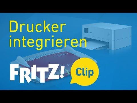 FRITZ! Clip – Drucker an der FRITZ!Box nutzen