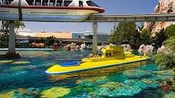 FINDING NEMO Submarine Voyage (FULL RIDE) Disneyland POV (1080p HD)