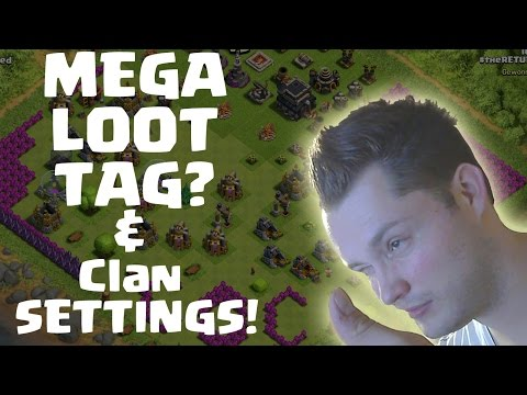 MEGA LOOT TAG & CLAN SETTINGS! || CLASH OF CLANS || Let's Play COC [Deutsch/German HD]