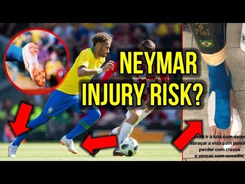 54cd08587 HERE'S WHY NEYMAR'S 2018 WORLD CUP FOOTBALL BOOTS INCREASE HIS RISK OF  INJURY!