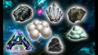 ALL THE RESOURCE SPAWNS! (Ark Aberration)
