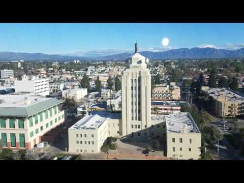 View from Van Nuys courthouse San Fernando Valley Los Angeles