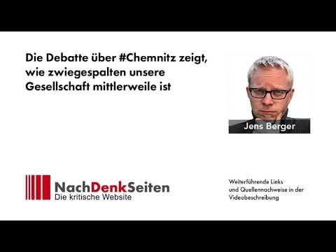 Die Debatte über #Chemnitz zeigt, wie zwiegespalten unsere Gesellschaft mittlerweile ist
