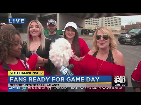 UGA Fans Ready For Game Day