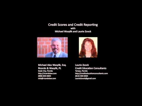 Credit Scores and Credit Reporting—Mike Wasylik and Laurie Zoock