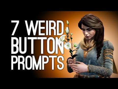 7 Weirdest Button Prompts You Were Not Ready For