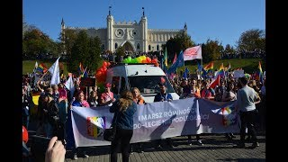 Marsz Równości i kontrmanifestacja  w Lublinie, 13.10.2018