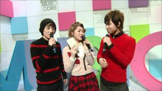 Opening, 오프닝, Music Core 20081018