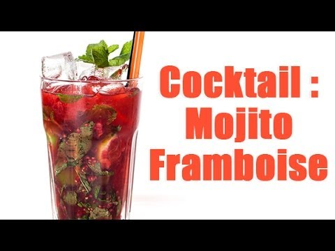 r aliser un mojito framboise en 3 minutes youtube. Black Bedroom Furniture Sets. Home Design Ideas