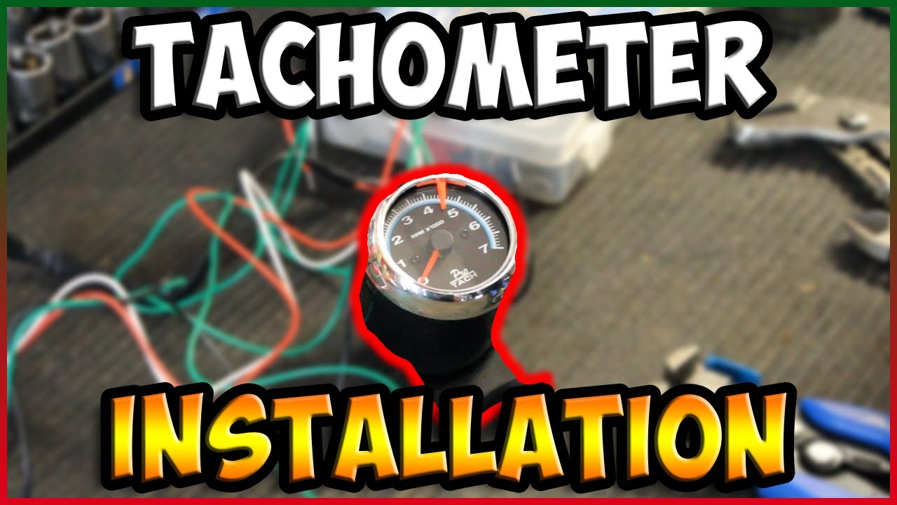 How To Install A Tachometer In Your Car Or Truck