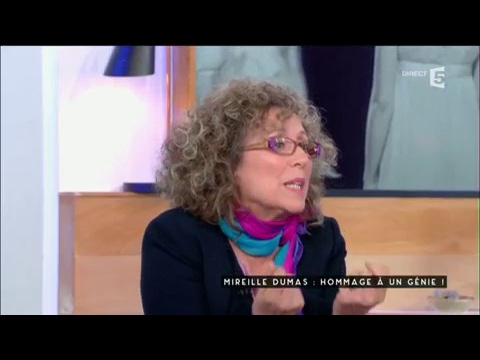 Mireille Dumas : Hommage à un génie - C à vous - 02/02/2017