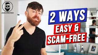 A lot of people take advantage the internet to make money and unfortunately some are scams. in this episode, i'm sharing with you 2 ways, one doing basic ...