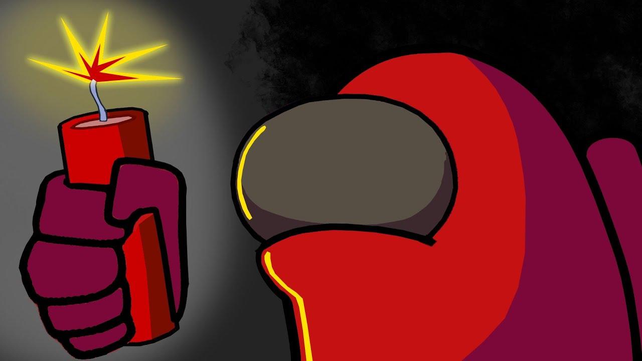 Among us Impostor Gots Bombs - Henry Stickmin Got Brain Lol Funny Animation