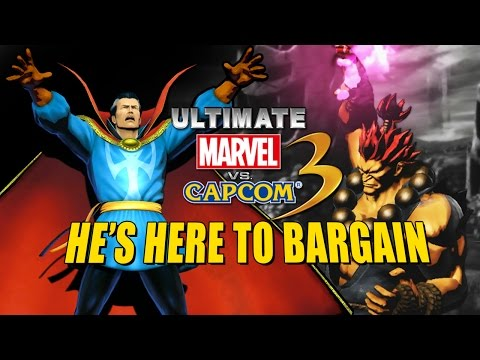 HE'S HERE TO BARGAIN: Ultimate Marvel Vs. Capcom 3 - Online Matches