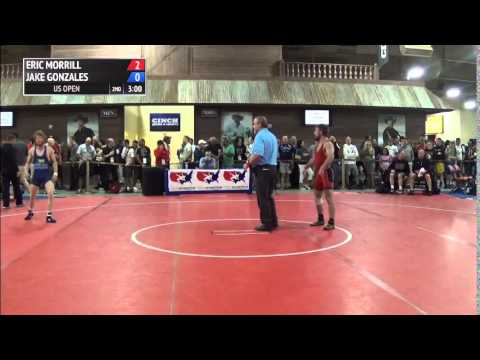 57 kg CR1 - Eric Morrill (Southeast RTC) vs Jake Gonzales (Crook County)