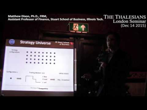 Clip of Matthew Dixon's talk on Machine Learning in Trading at Thalesians London - 14 Dec 2015