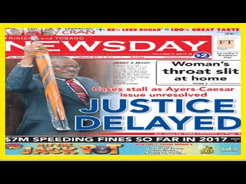 Breaking News | Trinidad and tobago's newsday : newsday.co.tt :