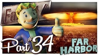 WHO SURVIVES? (Far Harbor End) | Fallout 4 Gameplay Part 34 (PC Let