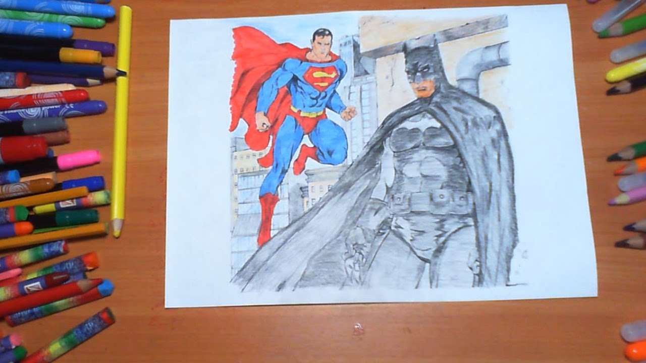 superman vs batman new coloring pages for kids colors superheroes