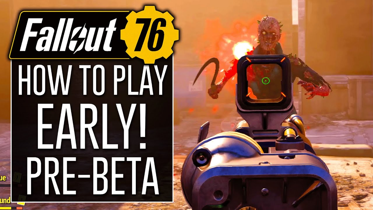 Download How to Play FALLOUT 76 EARLY on Xbox One!? (Pre-BETA)