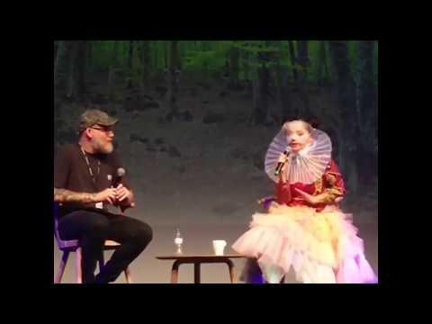 Björk - Sónar+D interview clips, Barcelona (14-Jun-2017)