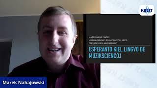 Esperanto kiel lingvo de muziksciencoj – Marek Nahajowski | KAEST 2020