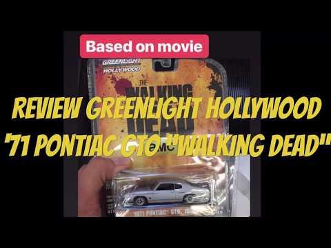 "GREENLIGHT HOLLYWOOD '71 PONTIAC GTO ""WALKING DEAD"". [Review]"