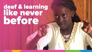 Mariama Is Deaf But Learning Like Never Before | Senegal | Orphan's Promise