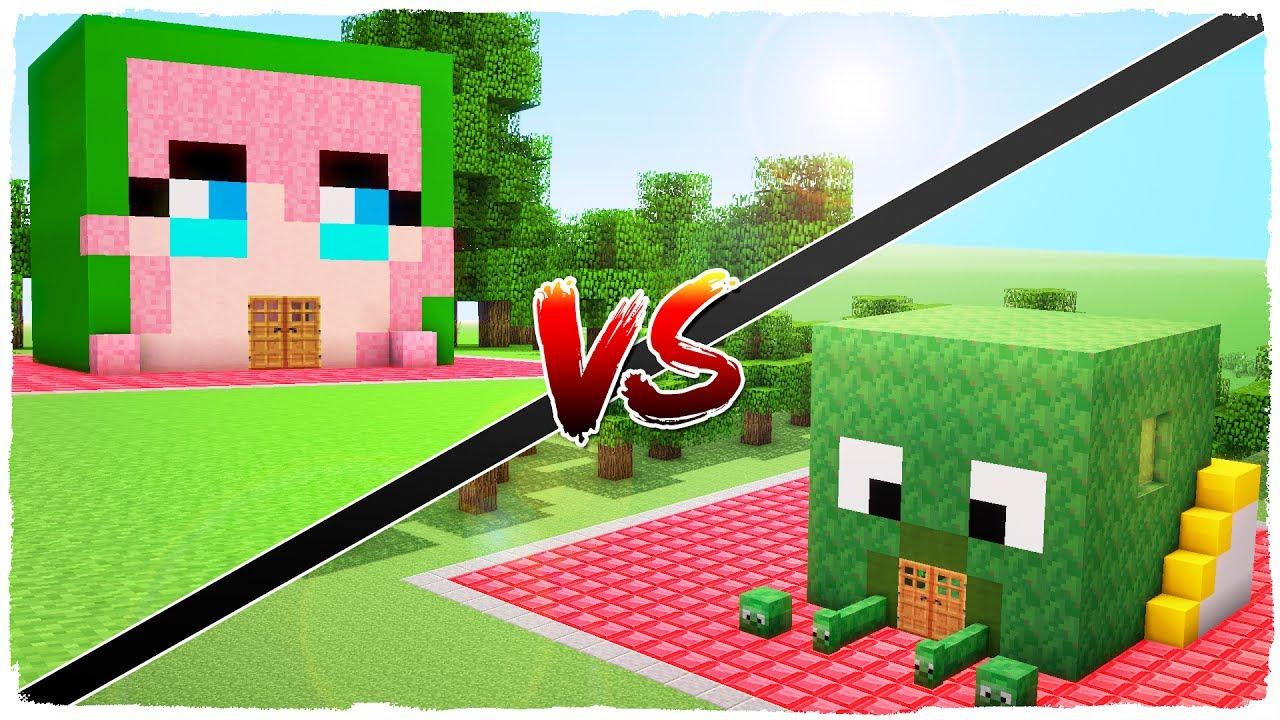 Casa de manucraft vs casa de tinenqa minecraft youtube for Blancana y mirote minecraft