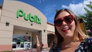 Grocery Shopping In Orlando Florida   Publix & Walmart Vlog