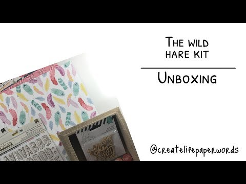 The Wild Hare Kit - Unboxing