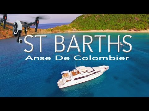 Anse De Colombier ~ St Barths ~ Best UAV Drone Caribbean ~ WeBeYachting.com