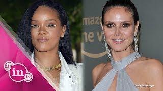 Von Rihanna bis Heidi Klum: Wie die Stars ohne Schminke aussehen - Teil 1/2