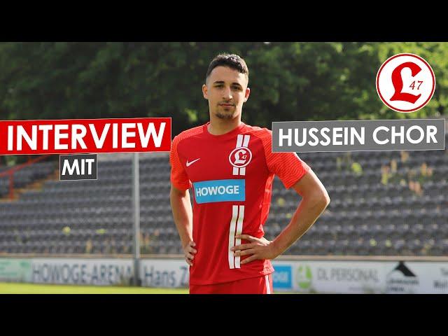 Regionalligateam: Interview mit Hussein Chor
