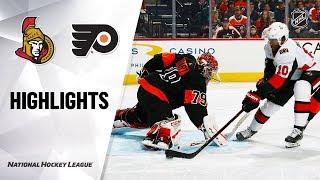 NHL Highlights | Senators @ Flyers 12/7/19
