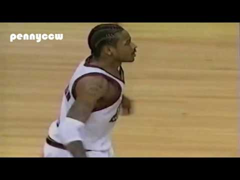 Allen Iverson & Toni Kukoc Highlights vs the Indiana Pacers 99/00 NBA