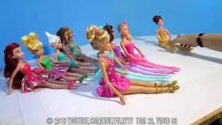 Ляльки Барбі і Принцеси Діснея Феї Іграшки Гри д