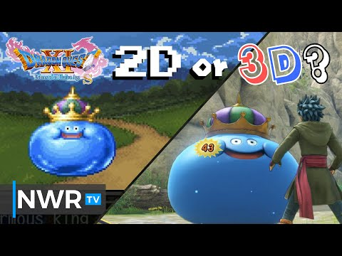Dragon Quest XI S: Should you play in 2D or 3D?