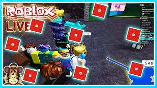 LATE ROBLOX LIVE STREAM -LET'S PLAY GIOCHI E PROVA A GET MOD PC !#156