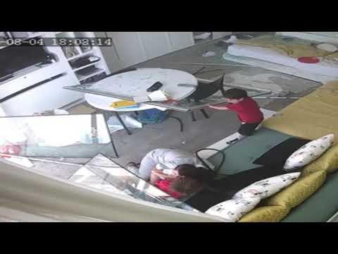 La explosión en Beirut toma por sorpresa a tres niños que miraban por la ventana
