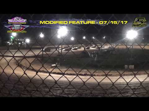 Path Valley Speedway - MidAtlantic Modifieds - Feature - July 15, 2017