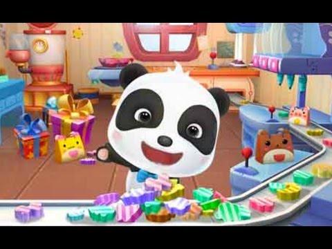 Little Pandas Candy Shop educational game | lollipops, animals and colors