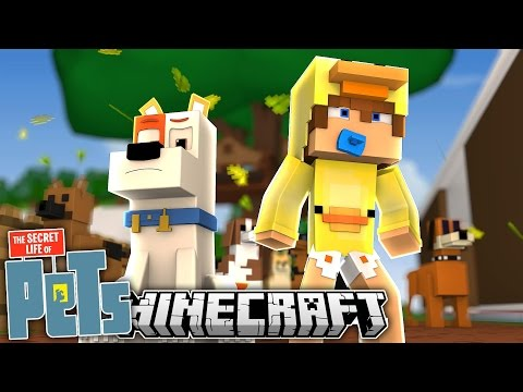 Minecraft Movie - THE SECRET LIFE OF PETS - Baby Duck Adventures