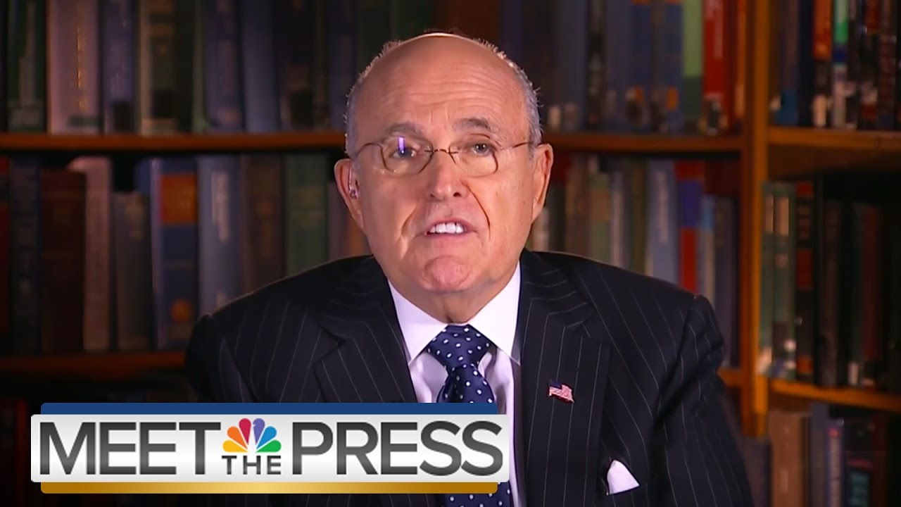 Asked About Past Indiscretions Rudy Giuliani Says Everybody Commits Infidelity