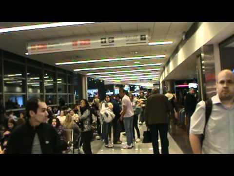 INSIDE NEW MONTEVIDEO AIRPORT TERMINAL MVD