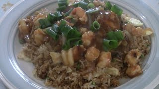 Special Shrimp Fried Rice  (With Special Secret Sauce)  Prawn Fried Rice