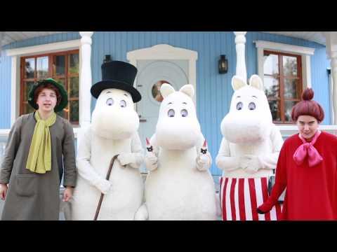 2014 TRAVELLERS Moomin メッセージ